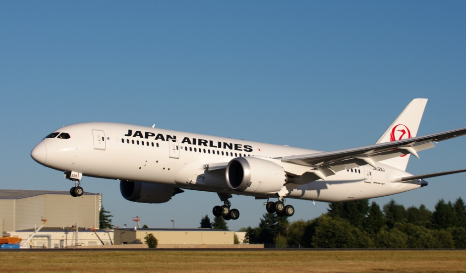 Japan Airlines (JAL) Boeing 787-8 airplane picture