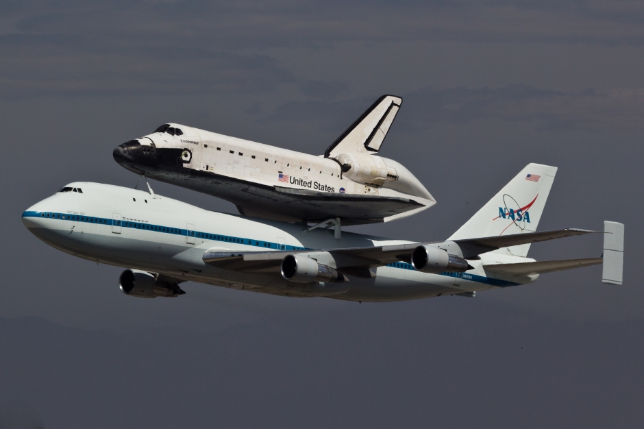 space shuttle carrier 747 american airlines - photo #40