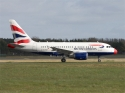 British Airways Airbus A318 airplane picture