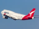 Qantas Boeing 747 airplane