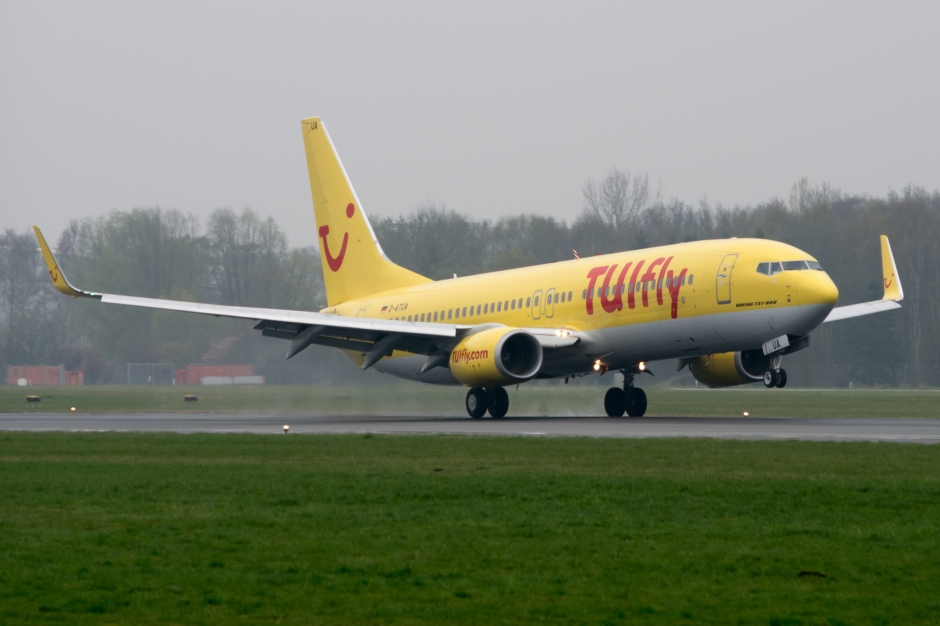 TUIfly Boeing 737-800 jet airliner