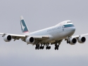 Cathay Pacific Cargo Boeing 747-8F jet airplane