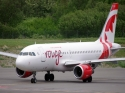 Air Canada Rouge Airbus A319 jet airliner