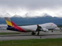 Asiana Cargo Boeing 747-400F freighter jet airplane