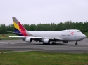 Asiana Cargo Boeing 747-400F freighter airplane