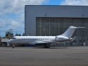 Bombardier Global Express jet airplane