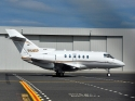 Hawker 800XP jet airplane